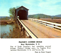 Prather's Covered Bridge - NC